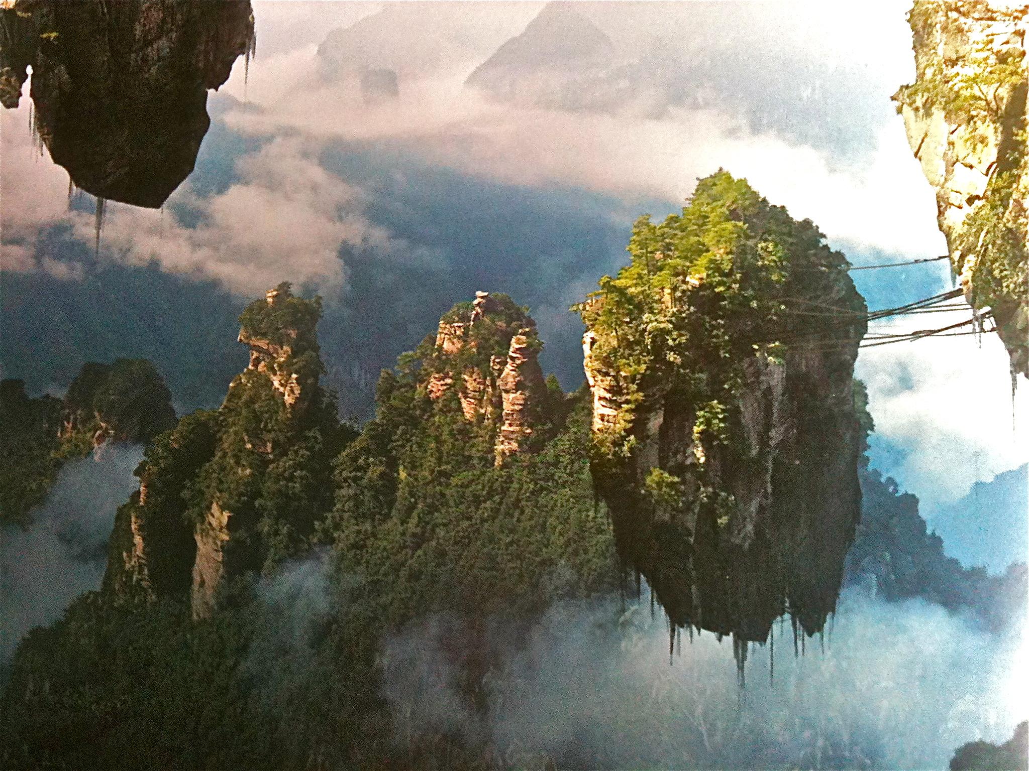 Les montagnes d\'Avatar
